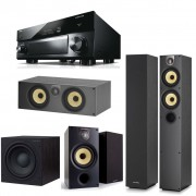 Pachet Receiver AV Yamaha MusicCast RX-A3060 + Pachet Boxe Bowers & Wilkins 684 S2 + Boxa Bowers & Wilkins HTM 62 S2 + Boxe Bowers & Wilkins 686 S2 + Subwoofer Bowers & Wilkins ASW 610