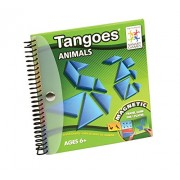 Smart Games Tangoes Animals: Magnetic Travel Game for 1 Player