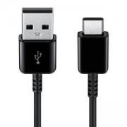 Кабел Samsung Cable Type C to USB 2.0, 1.5m, Черен, EP-DG930IBEGWW