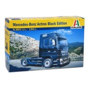 Italeri Mercedes Benz Actros Black Edition Model Kit