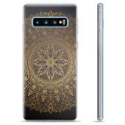 Samsung Galaxy S10 TPU Case - Mandala