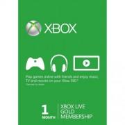 Xbox Live Gold Card Membership ( 1 luna) Xbox One / Xbox 360