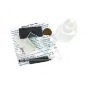 Mineral Test Kit; For rock, mineral, and fossil identification