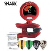 Snark SN-2 All Instrument Tuner with Tap Tempo Metronome - Includes ChromaCast Pick Sampler
