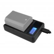 Digital Pantalla LCD Bateria Cargador Con Puerto USB Para Sony Np-fz100 Batería Compatible Con Sony A9 (ilce-9)