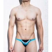 Mategear Young Hwan Half Back Series II Mini Bikini Swimwear Deep Sky Blue 1140102