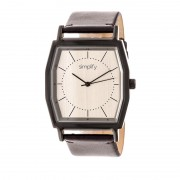 Simplify The 5400 Leather-Band Watch - Bronze/Dark Brown SIM5405