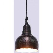 Aasra Decor Brown Shaded Metal Pendant Lamp