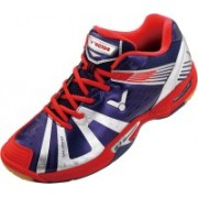 Victor Sh-A930-B Badminton Shoes For Men(Blue, Red, Silver)