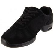 Sansha Hi-Step Zapatillas de Danza, Negro, 4 US