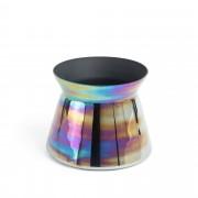 Kave Home Jarra Synchrony Ø23,6 cm , en Cristal - Multicolor