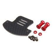 ALZRC Devil 505 FAST RC Helicopter Parts Carbon Fiber Gyro Mount 2.0mm