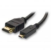 tiendatec CABLE HDMI A MICRO HDMI (TIPO D) 1M. M/M NEGRO