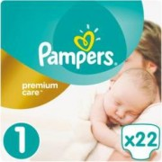 Scutece Pampers Premium Care 1 New Baby Small Pack 22 buc