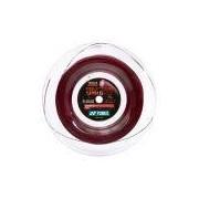 Corda Yonex Poly Tour Spin G 16L 1.25mm Vermelha Rolo com 200 metros