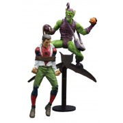 Diamond Select Toys Marvel Select Classic Green Goblin Vs Spider Man Action Figure, Multi Color