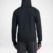Jordan Flight Herren-Basketball-Hoodie mit durchgehendem Reißverschluss - Schwarz
