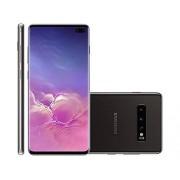 "Samsung Galaxy S10+ Plus 128GB+8GB RAM SM-G975 6.4"" Dual Sim LTE Libre de Fabrica (Version Internacional) Negro"