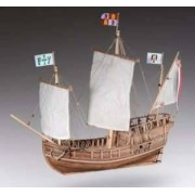 Dusek Ship Kits Drewniany model żaglowca Pinta - Dusek D011 w skali 1-72