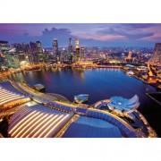 Ravensburger puzzle orizontul orasului singapore, 1000 piese