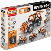 Конструктор Енджино Изобретател - Моторизиран комплект 50 в 1 - Engino, 150018