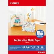 Canon Papier mat recto verso Canon MP-101D, 18 × 25 cm, 20 feuilles