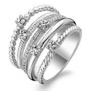 Ti Sento zilveren Ring met Zirkonia