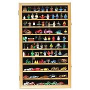 Lego Minifigures / Star War / Disney Figures Display Case Wall Curio Cabinet with door Solid Wood HW04-OA