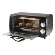 HOME HG MS 09 800W-os mini sütő, 9 literes, 60 perces időzítővel, melegszendvics sütéshez