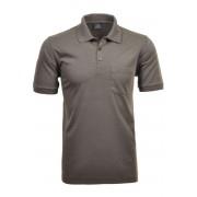 RAGMAN Regular Fit Poloshirt Kurzarm macchiato, Einfarbig
