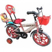 Oh Baby Baby 35.56 Cm (14) double seat bicycle with red color for your kids SE-BC-05