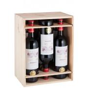 Château Haut-Saric 6er-Holzkiste Bordeaux Rouge - 2018 - Château Haut-Saric - Weinpakete