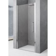 Novellini Young 2.0 Porte de douche battante, boîte 1B 90 - profil: argent - cristal: sati