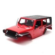 1/10 313mm Wheelbase Hard ABS RC Car Body Shell With Interior for Axial SCX10 RC4WD Parts