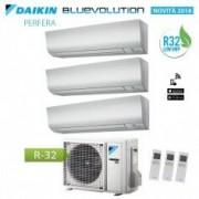 Daikin CLIMATIZZATORE CONDIZIONATORE DAIKIN TRIAL INVERTER 7+9+9 SERIE PERFERA DA 7000+9000+9000 BTU CON 3MXM40M R-32 IN A+++