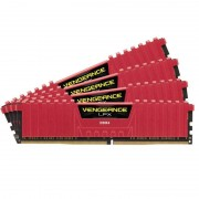 Memorie Corsair Vengeance LPX Red 32GB DDR4 3000 MHz CL15 Quad Channel Kit