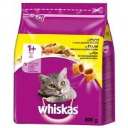 14кг 1+ Whiskas, суха храна за котки с пилешко