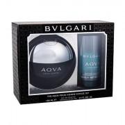 Bvlgari Aqva Pour Homme confezione regalo eau de toilette 100 ml + deodorante 75 ml Uomo