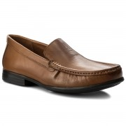 Мокасини CLARKS - Claude Plain 261243167 Tan Leather