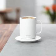 Ember Ceramic Mug Tasse mit Temperaturregelung, smart per App, Thermotasse, weiss