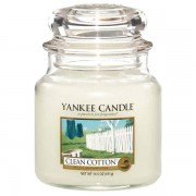 Yankee Candle Clean Cotton - Medium Jar, Yankee Candle