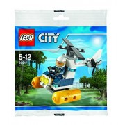 Lego 30311 City Police swamp helicopter in the follow-up Mini set (Bagged)
