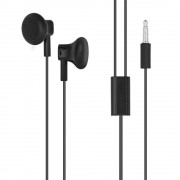 Nokia Headset WH-109 Stereo Headset - слушалки с микрофон за Nokia смартфони (черен) (bulk)