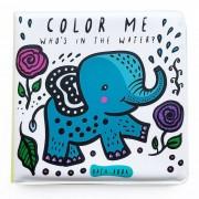 WEE GALLERY Livre de bain à colorier - Water