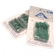 Gancetti universali - verde - 5476 (conf.200) - 23355X - No Brand