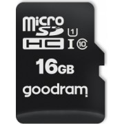 Card de memorie Goodram HC UHS-I class10 Micro-SD 16 GB Negru