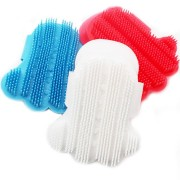 Silicone pet brush Glove Touch Gentle Efficient Pet Grooming Dogs Bath Pet Cleaning Brushes
