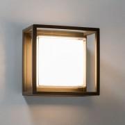 Licht-Trend Quadro LED-Außenleuchte w2 Wand Decke Dunkelgrau