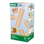 Brio Schienen-Starterset B, 13 Schienenstücke