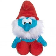 "Smurfs Papa Smurf 12"" Plush with Sounds and DVD"
